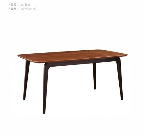 型号:1801  名称:餐桌