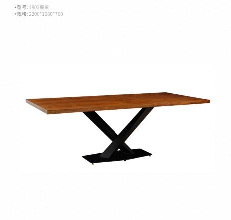 型号:1802  名称:餐桌